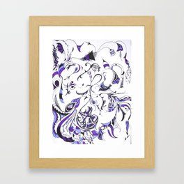 Exaustion Framed Art Print
