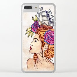 My Lady Clear iPhone Case