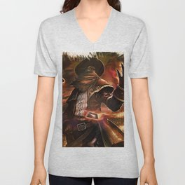 League of Legends HIGH NOON TWISTED FATE Unisex V-Neck