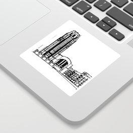 The Buffalo Central Terminal Sticker