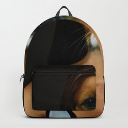 DogWoman #society6 #decor #buyart #artprint Backpack