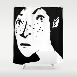 Women portrait Shower Curtain