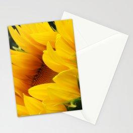 Shy Sunflower Stationery Cards