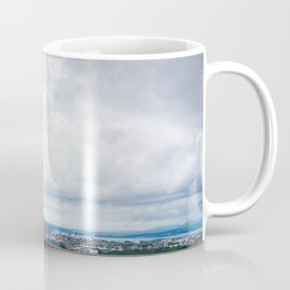 View of Edinburgh, Scotland from Edinburgh Castle Coffee Mug