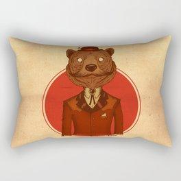 {Bosque Animal} Oso Rectangular Pillow