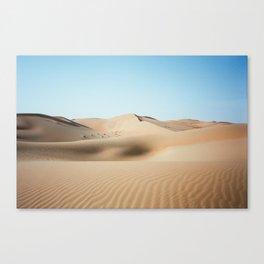 Liwa Dunes, Abu Dhabi Canvas Print