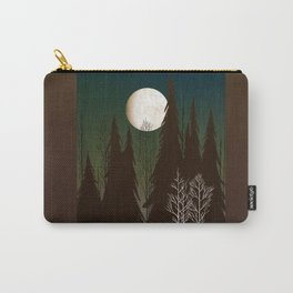 Into The Cold Winter Woods Carry-All Pouch