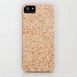 Demerera sugar iPhone Case