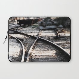 Abandoned Rail Tracks Laptop Sleeve
