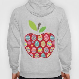 Easter Egg Hunt In Apple Funny Teacher Hoody