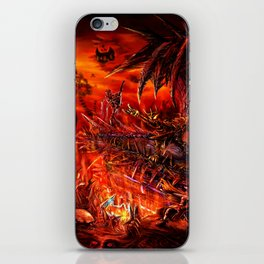Viking Guitar: Made of Metal iPhone Skin