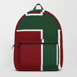 Red White Green 2 Backpack