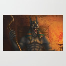 Anubis: Lord of the Dead Rug