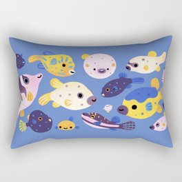 Blowfish Rectangular Pillow