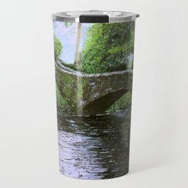 Stone Bridge River Travel Mug