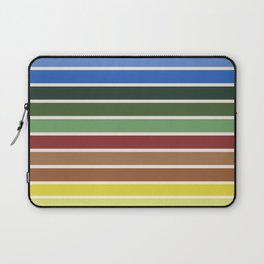 The colors of - Castle in the sky Laptop Sleeve