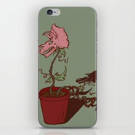 Nepenthes Ceratopsidae iPhone Skin