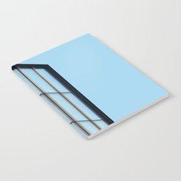 Modern architecture art gallery in New York Notebook