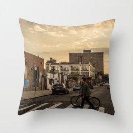 Bushwick Bound Throw Pillow