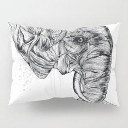 Elephant art Pillow Sham