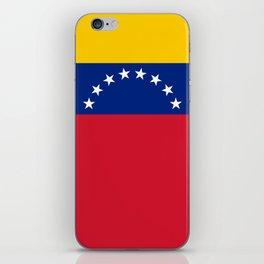 National flag of  Venezuela - Authentic version iPhone Skin