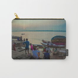 Life in the Ganges River Carry-All Pouch