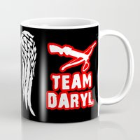 daryl Mugs featuring Team Daryl by Jera Sky