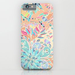 Paradise Doodle iPhone Case