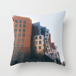 Ray and Maria Stata Center Throw Pillow