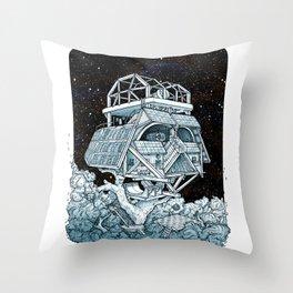 Darth's Treehouse  Throw Pillow