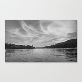 Black & White Up-State New York Canvas Print