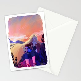 Mountain Ride Stationery Cards