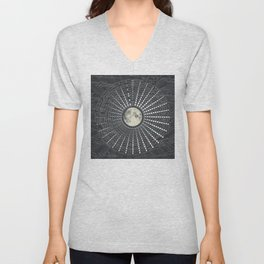Phases // Moon Calendar 2017 Unisex V-Neck