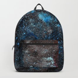 Abstract Cosmos Watercolor Art Backpack