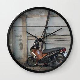 A Quick Stop Wall Clock