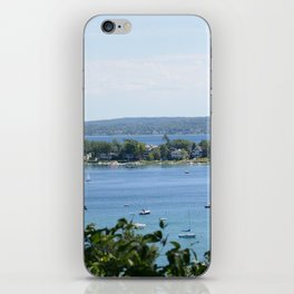 Harbor Springs Bay, View from Bluff (2) iPhone Skin