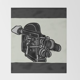 16mm Camera Throw Blanket