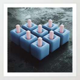 20160229 | NOTHING BUT CUBES Art Print