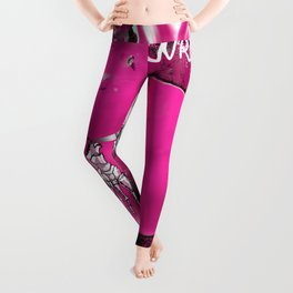 A Profoundly Wrong Rabbit Leggings