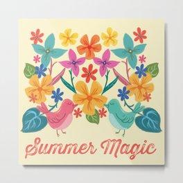Summer Magic Metal Print