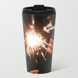 Happy America Travel Mug