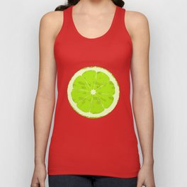 Lime Unisex Tank Top