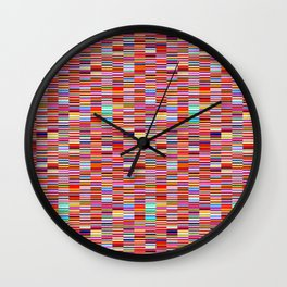 Paperback Book Stack Wall Clock