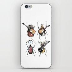 Meet the Beetles (white option) iPhone & iPod Skin