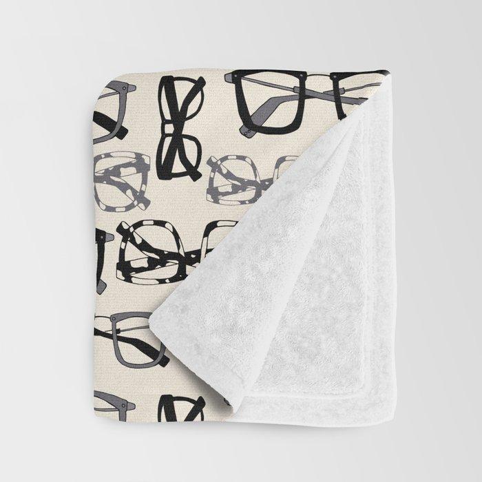 Eyeglasses Throw Blanket