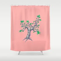 whimsical Shower Curtains featuring Whimsical by Shane Acuff