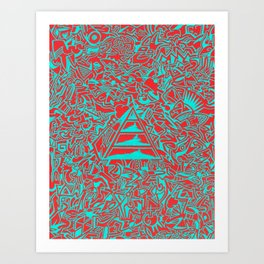 Incoherent Echo Art Print