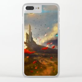 Wanderer Clear iPhone Case