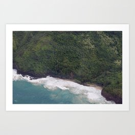 Napali Art Print