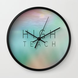 High Teach Wall Clock